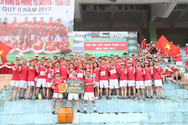 Đại hội Thể thao Tuấn 123 Mùa Thu 2017