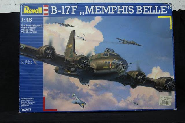 B-17F Menphis Belle Revell 1/48
