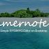 Menggunakan Editor Summernote