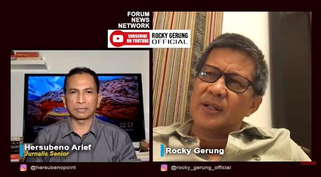 Rekaman Munarman Check In Hotel Disebar, Rocky Gerung: Moralitasnya Mau Dijegal