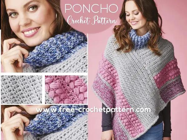 free-crochet-poncho-pattern