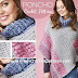 Poncho crochet with two rectangles