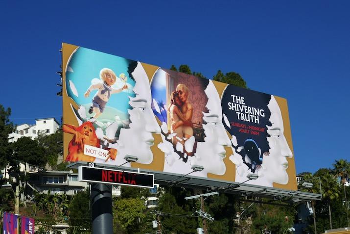 Shivering Truth season 1 billboard