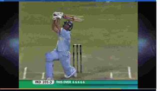 36-runs World Record Over | Yuvraj Singh 6-Sixes in an Over Highlights
