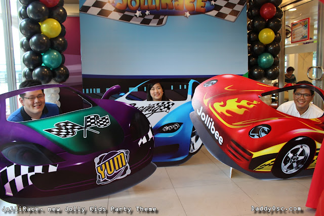 JolliRace Jolly Kids Party Theme.