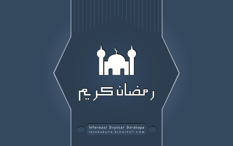 Wallpaper Kaligrafi Ramadhan Karim 2018 M / 1439 H
