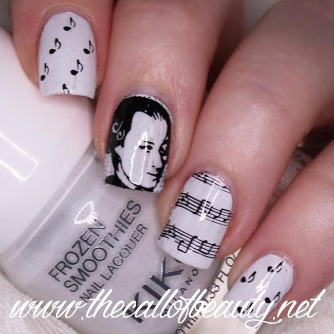 Mozart Nail Art