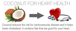 Oleo de coco Melhora os níveis de colesterol no sangue e reduz o risco de doença cardíaca