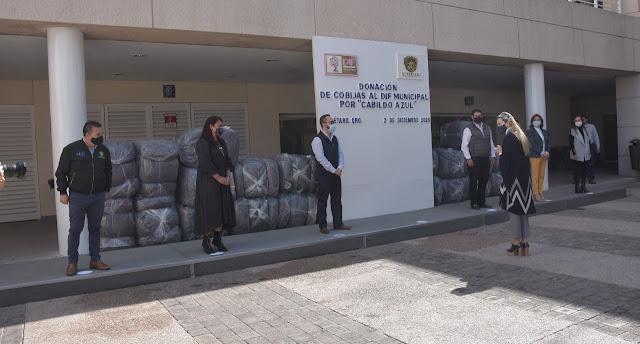 Llama el DIF Municipal al donativo de cobijas en favor de quienes más lo necesitan