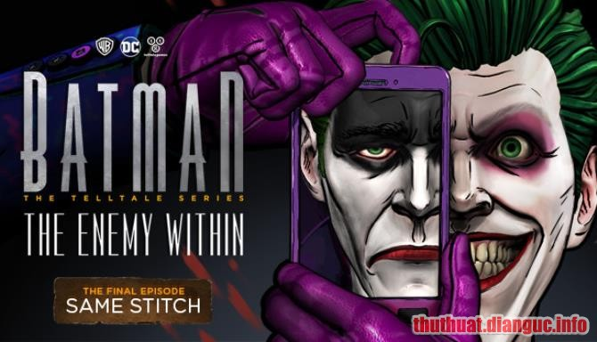 Download Game BATMAN The Enemy Within Full Episode Full Crack