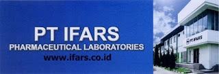 LOKER 2018 Solo PT Ifars Parmacheutical Laboratories Karanganyar Terbaru