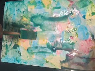 Peinture avant ajout du sel