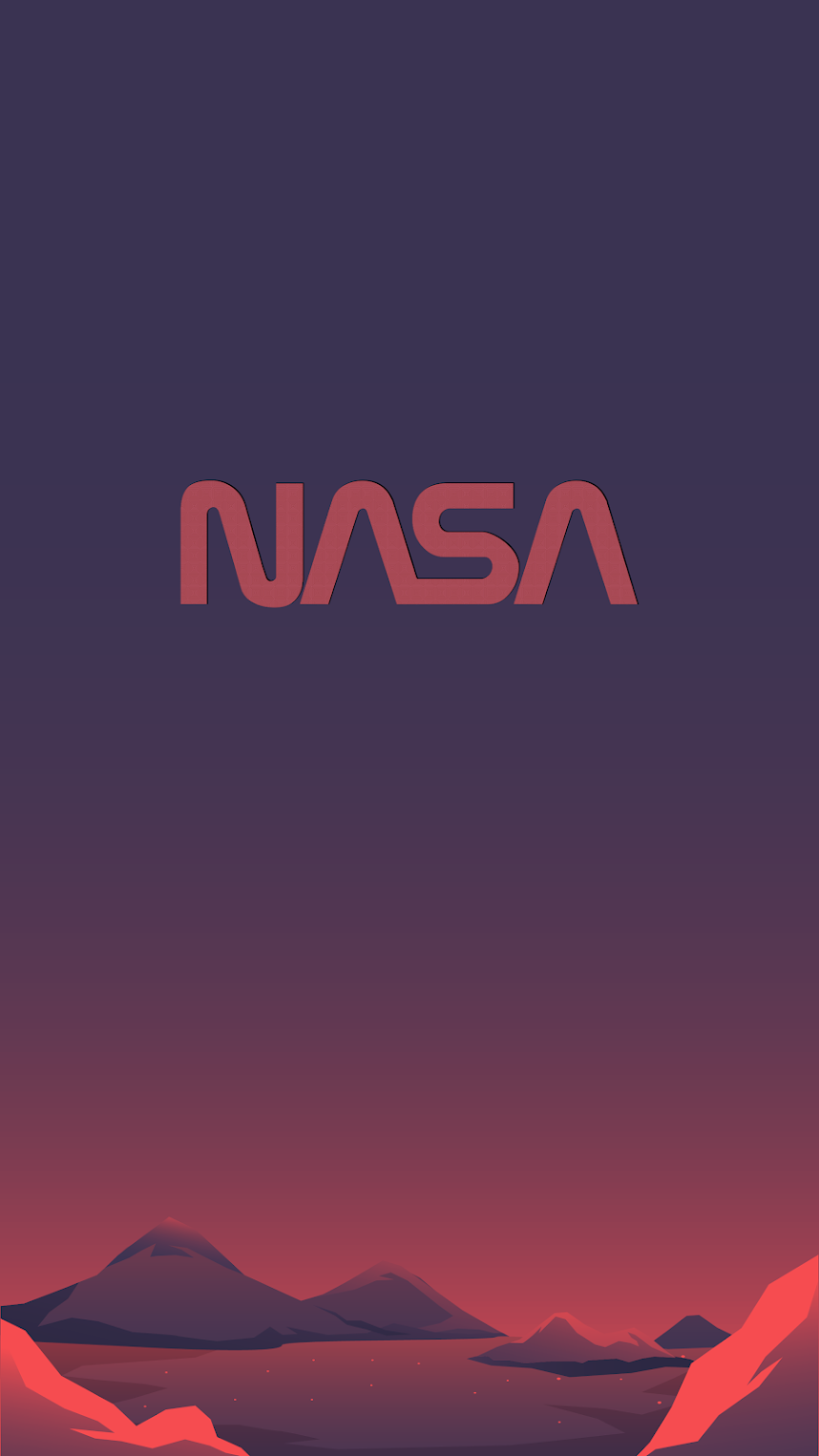 Nasa new logo wallpaper 4k for mobile phone