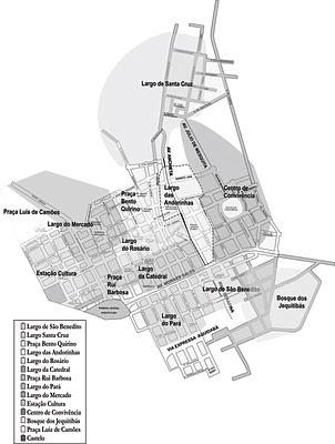 largo do carmo mapa Conhecer Campinas numa Perspectiva Histórica (em CONSTRUÇÃO): Cap  largo do carmo mapa