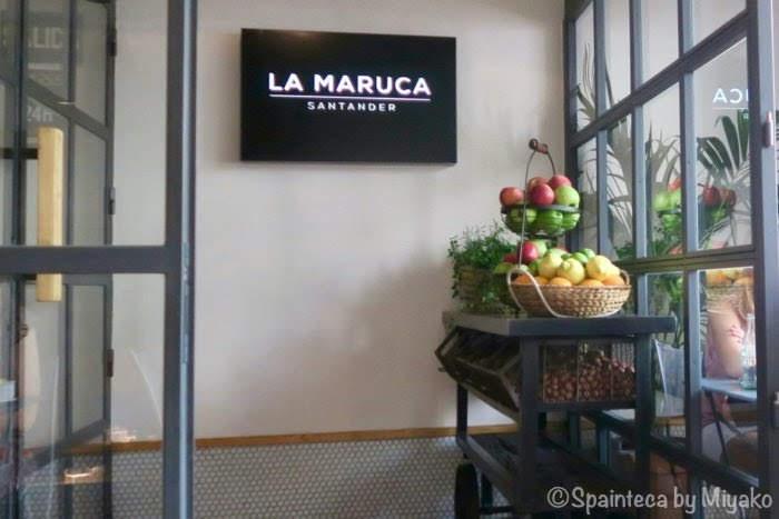 La Marucaサンタンデール発マドリード・サラマンカ地区の美味しいバル・ラ・マルカの入口