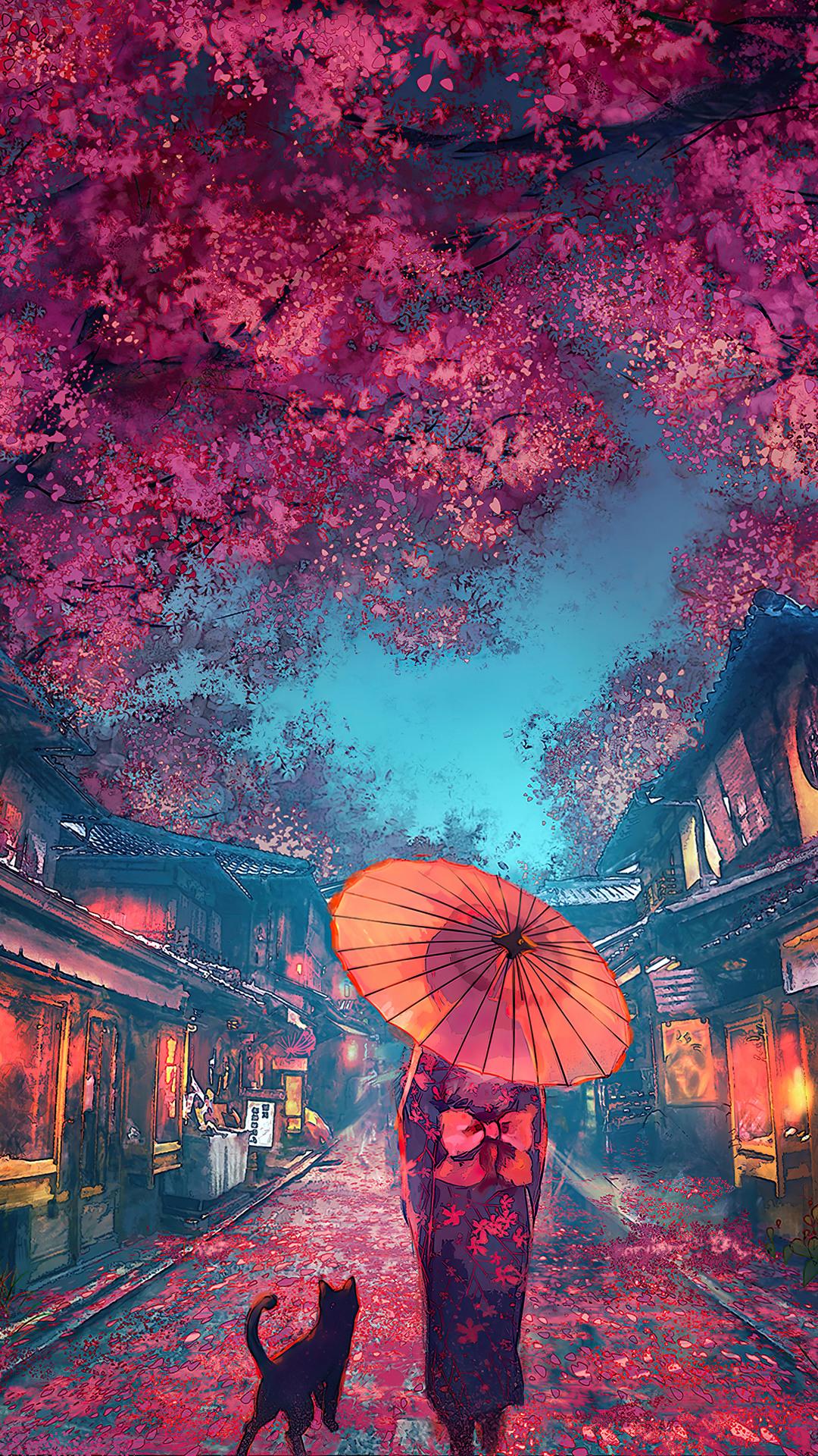 Japanese Street Scenery