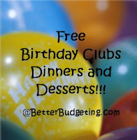Get free stuff for your birthday!