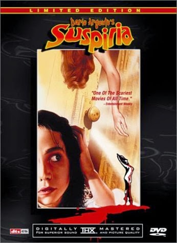 Suspiria Limited Edition dvd cover