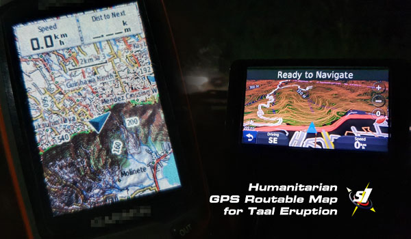 Schadow1 Expeditions GPS Humanitarian Map on devices