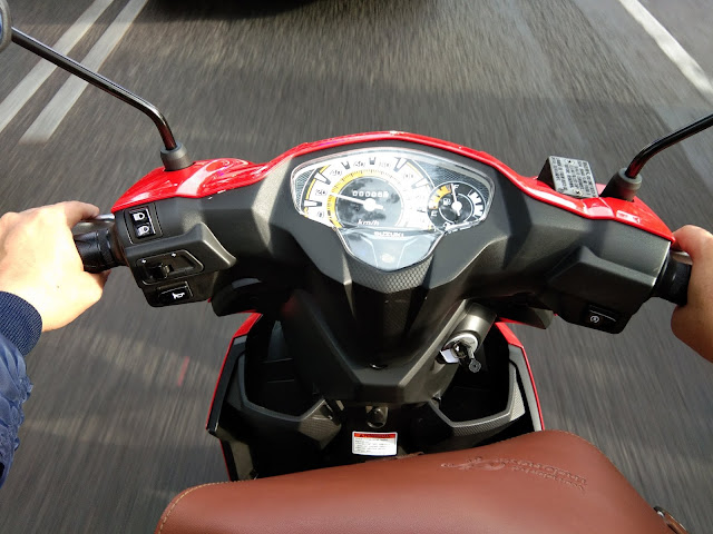 test ride Suzuki NEX II