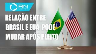 Relação entre Brasil e EUA - Mudanças econômicas nos Estados Unido - Kamala Harris comemora vitória com Joe Biden
