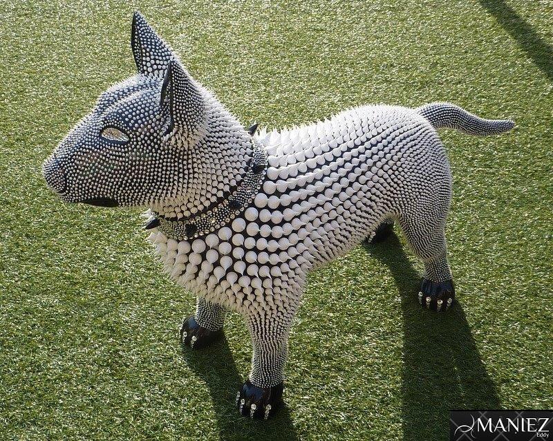 Bull Terrier poly resine de MANIEZ-EDDY