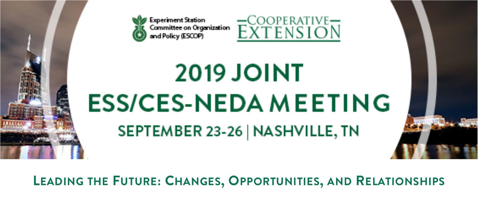 ECOP Monday Minute: 2019 Joint ESS/CES-NEDA Meeting Registration
