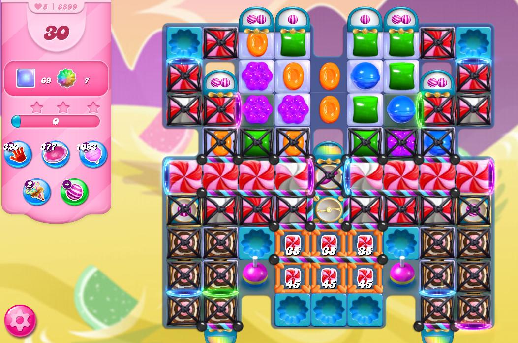Candy Crush Saga level 8899