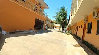 Garagem do hotel em Campo Grande/MS.