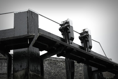 Digby lock grand canal, door detail