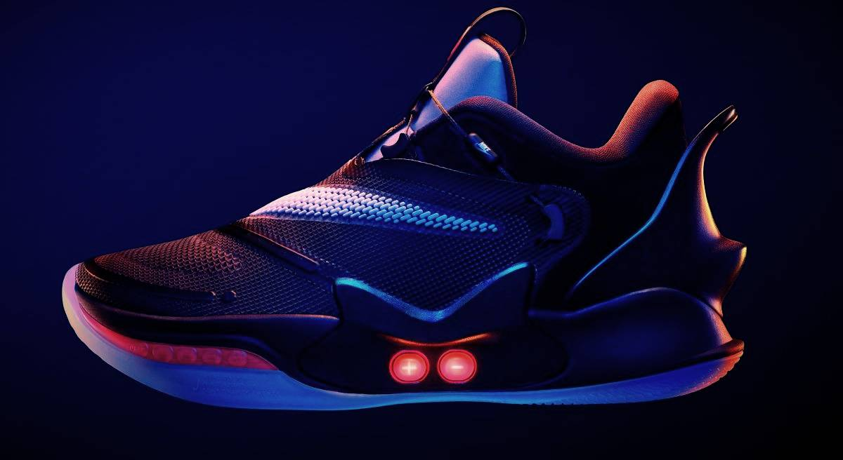 New Nike sneakers themselves lace up and controlled from a smartphone