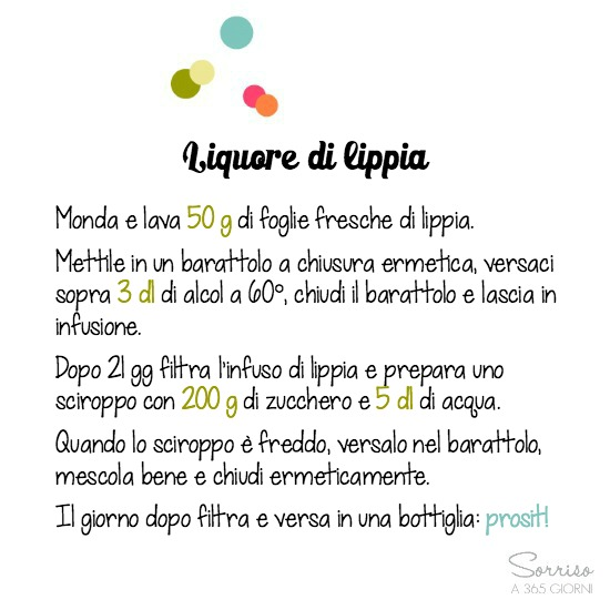 sorrisoa365giorni-liquore-lippia-ricetta