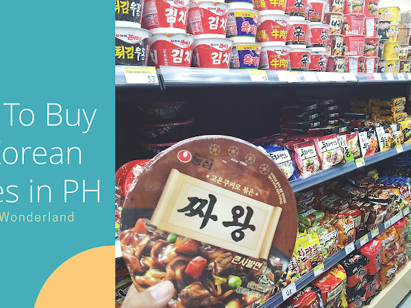 Where To Buy Spicy Korean Noodles in the Philippines