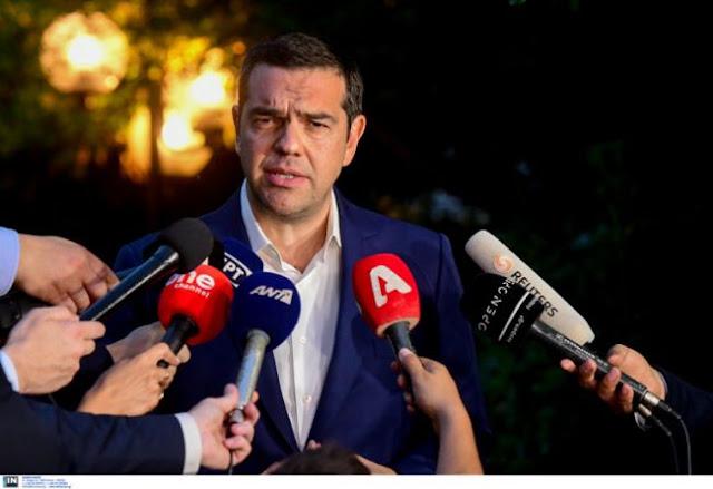 «Aνοιχτός» σε ενημέρωση των πολιτικών αρχηγών ο Τσίπρας