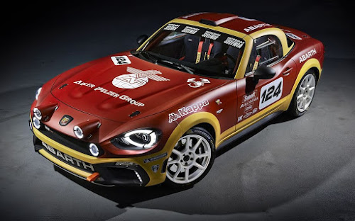 Abarth 124 Rally Prototype