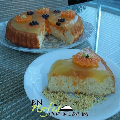 Portakallı Meyveli Tart Nasıl Yapılır