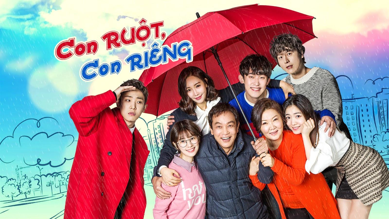 Phim con ruột con riêng Hàn Quốc