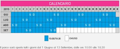 Calendario Aquafan 2016