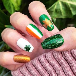 St Patrick'S Day Nail Designs