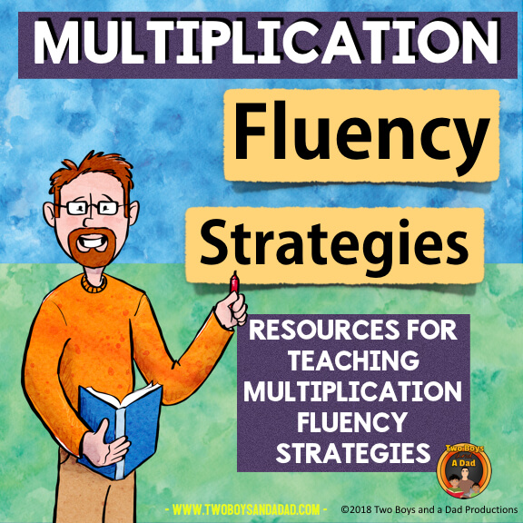 Multiplication Fluency Strategies resources on Teachers Pay Teachers