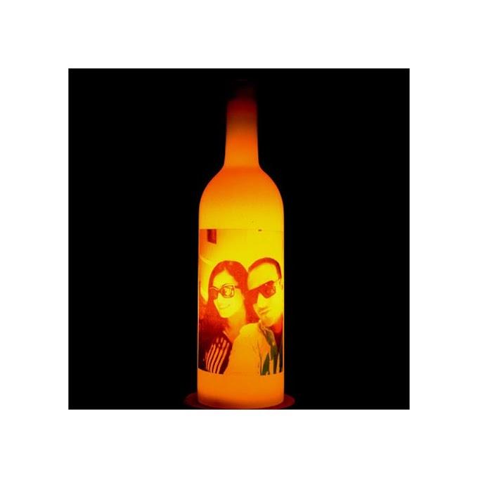 Personalised Photo Bottle Lamp