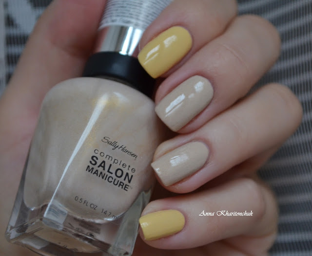 Sally Hansen Salon Manicure 103 Gemincello и Sally Hansen Salon Manicure 104 Cancer Moon