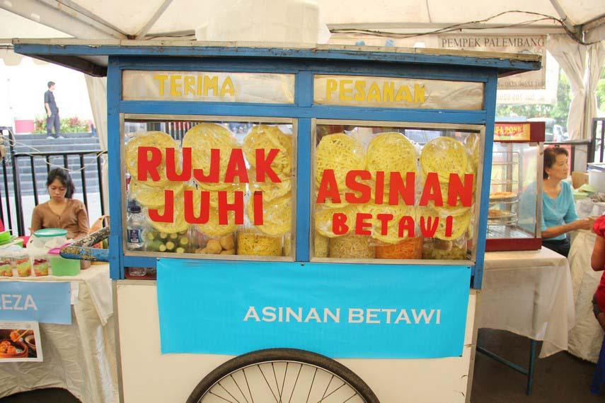 Rujak Juhi, Makanan Khas Betawi