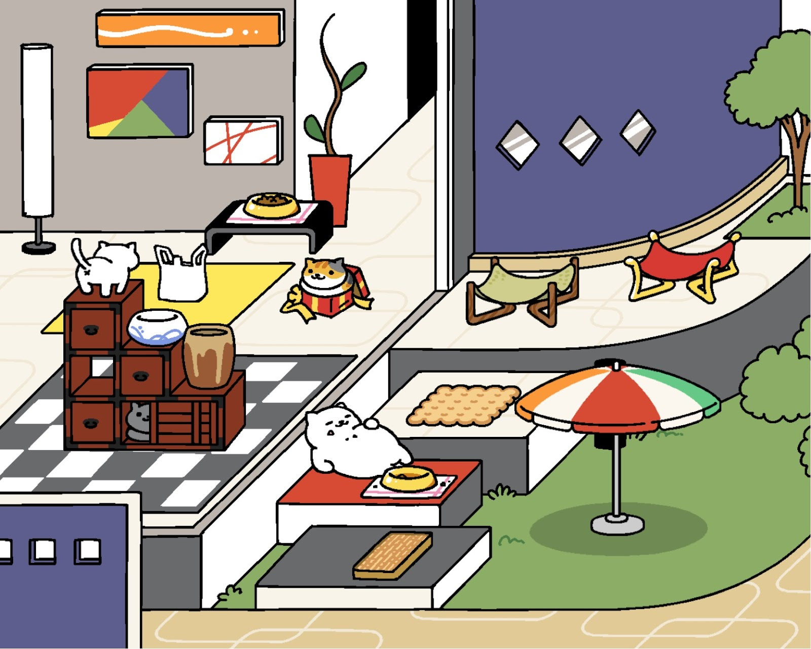 CulturalConstruct: Cat Blogging: The Sims, Neko Atsume, and ...
