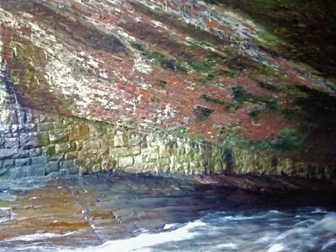 Hidden Culverts Under The River Medlock..Ashton U Lyne