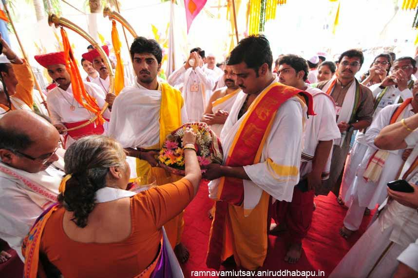 aniruddha, bapu, aniruddha bapu, ramnavami, aukshan, ram, shriram, Renuka devi, Ranuka mata