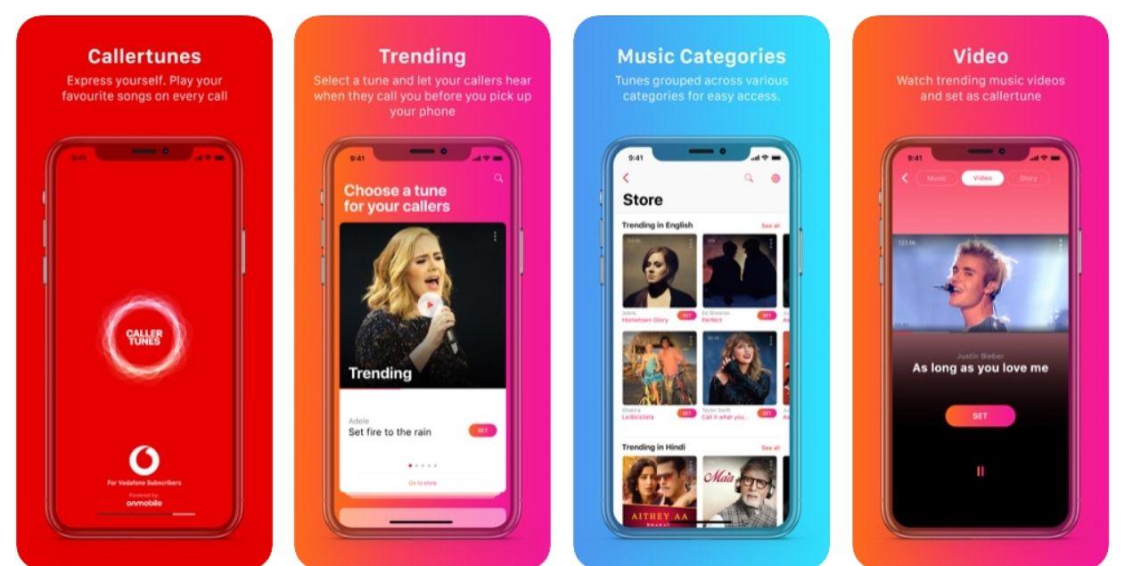 Vodafone Caller Tune app