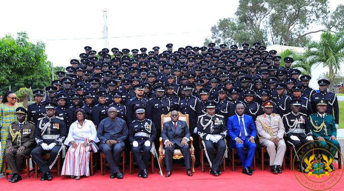 """""""568 Vehicles Provided To The Police; 320 Housing Units Being Built"""" – President Akufo-Addo"""