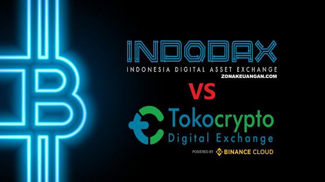 Tokocrypto vs Indodax