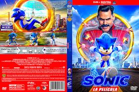 Caratulas Mountain Sonic La Pelicula Sonic The Hedgehog